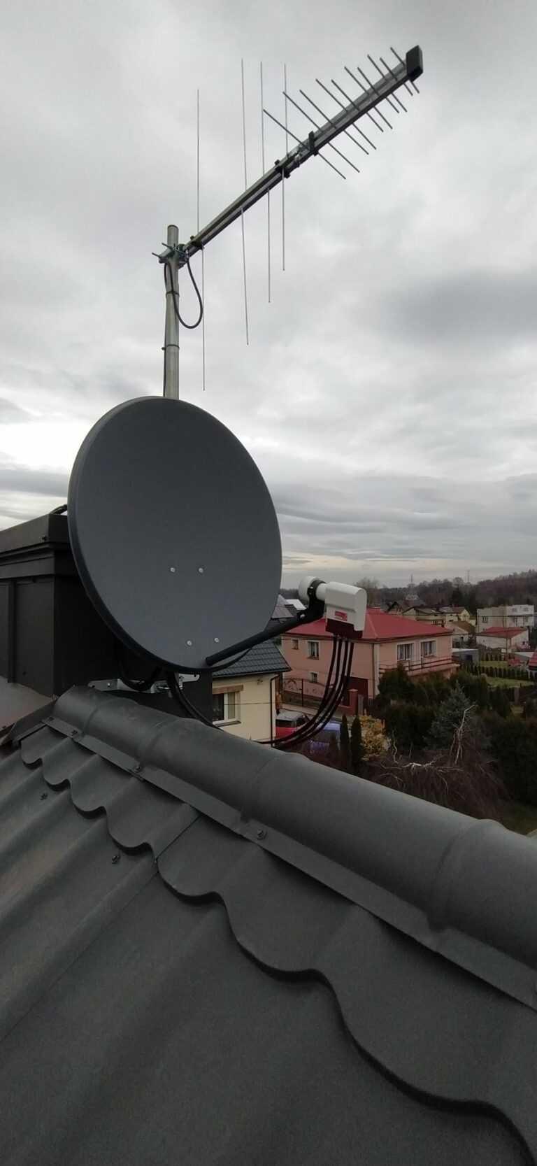 anteny kraków