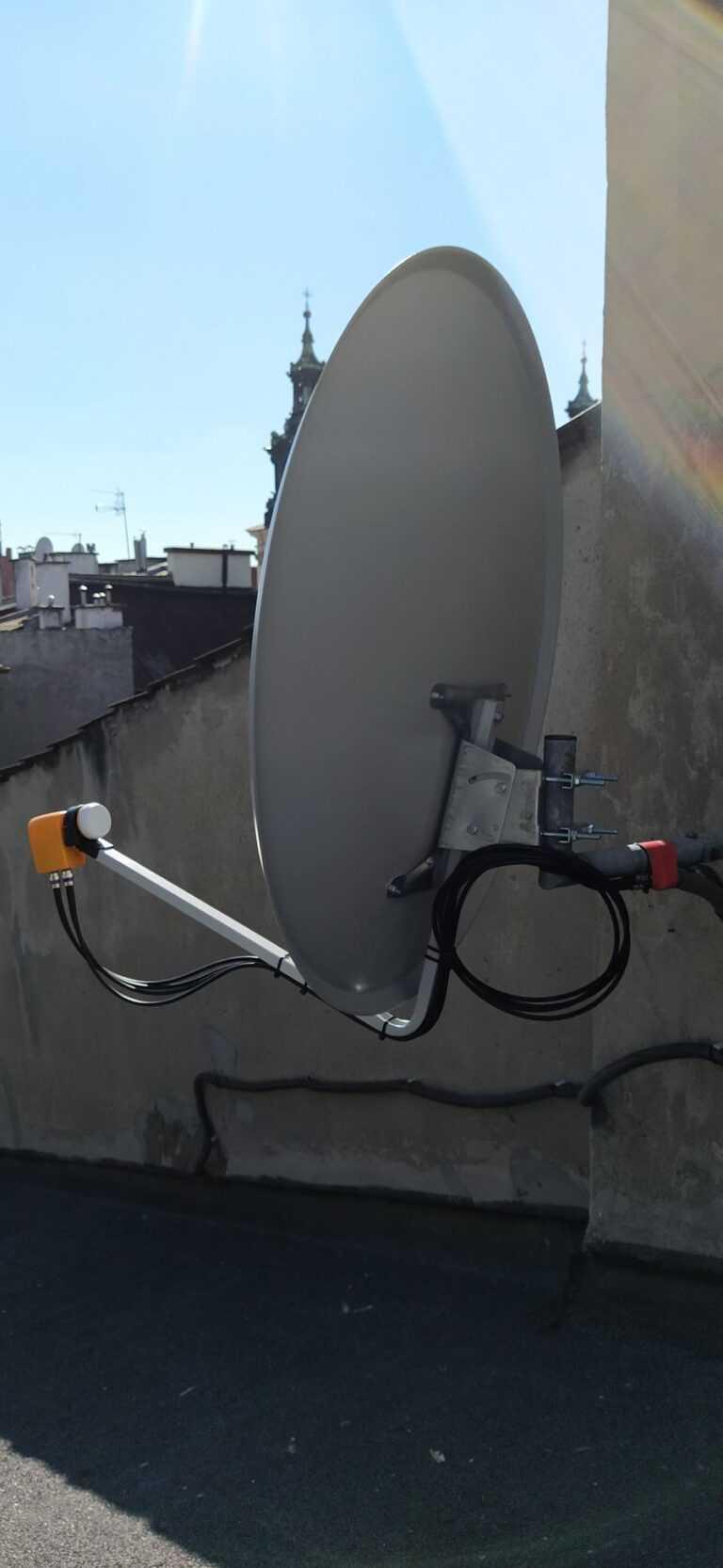 montaż anteny kraków