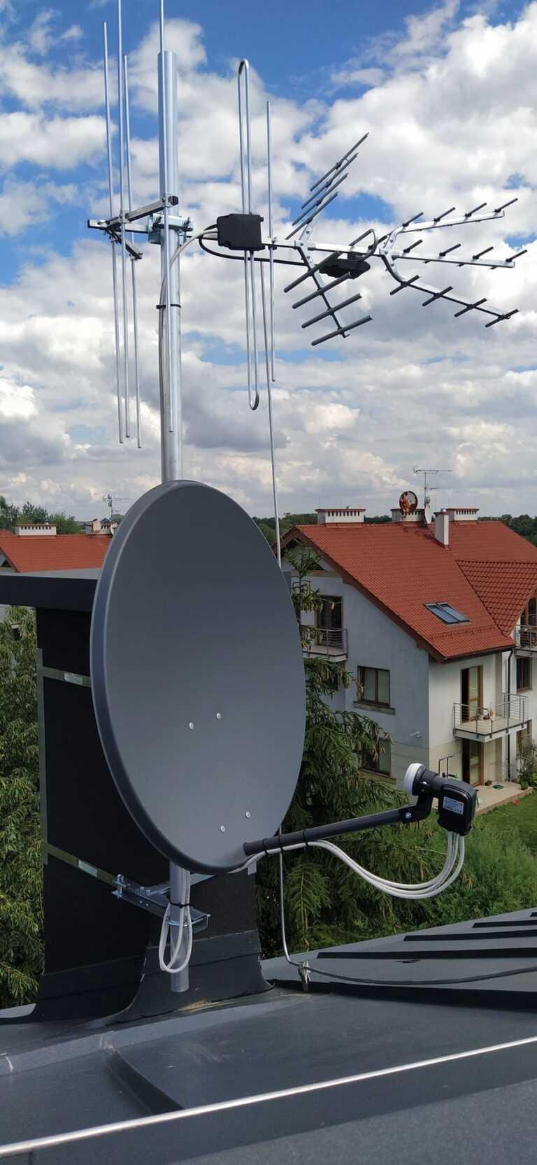 montaż anten rtv kraków