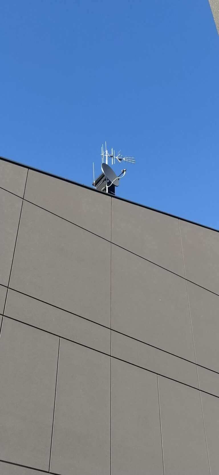 usługi montaż anten satelitarnych