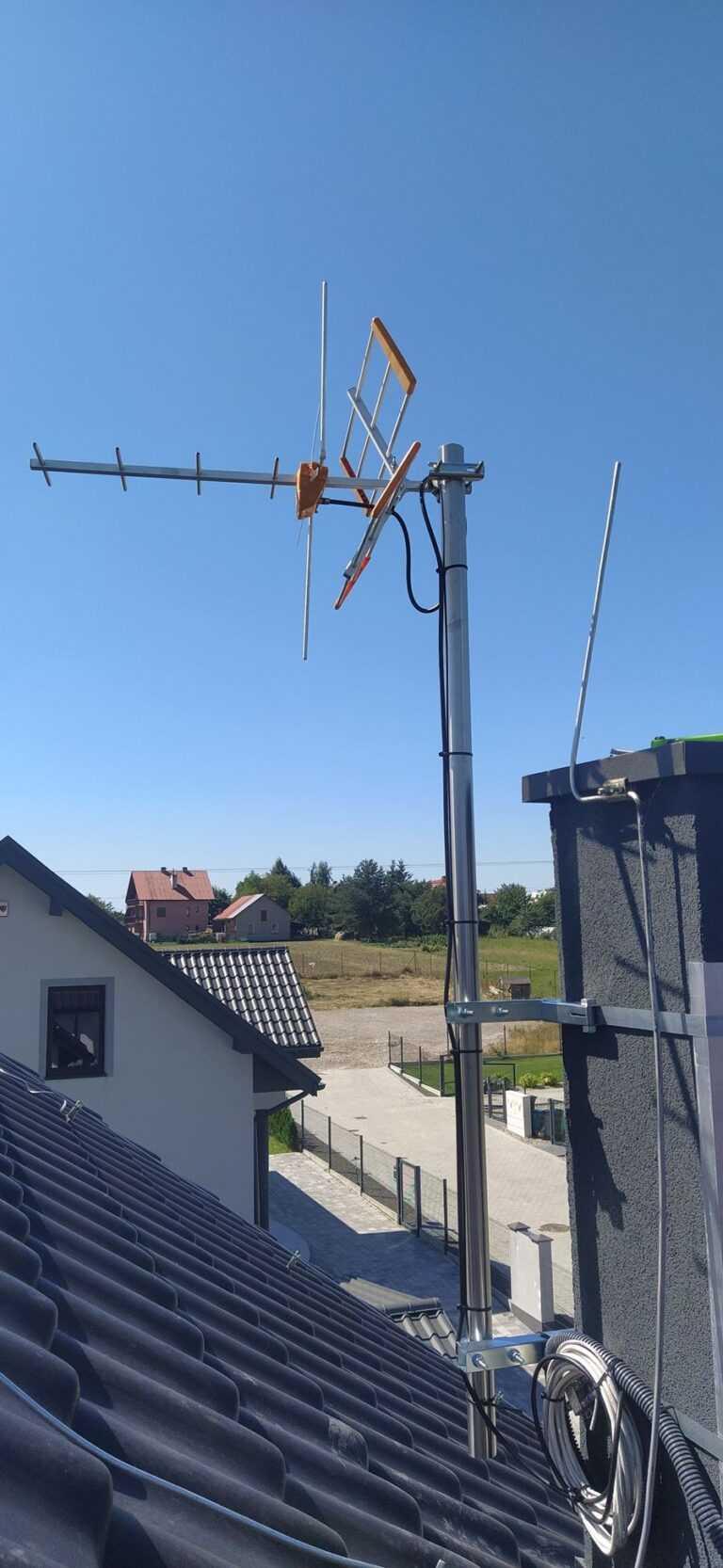 usługi anteny satelitarne