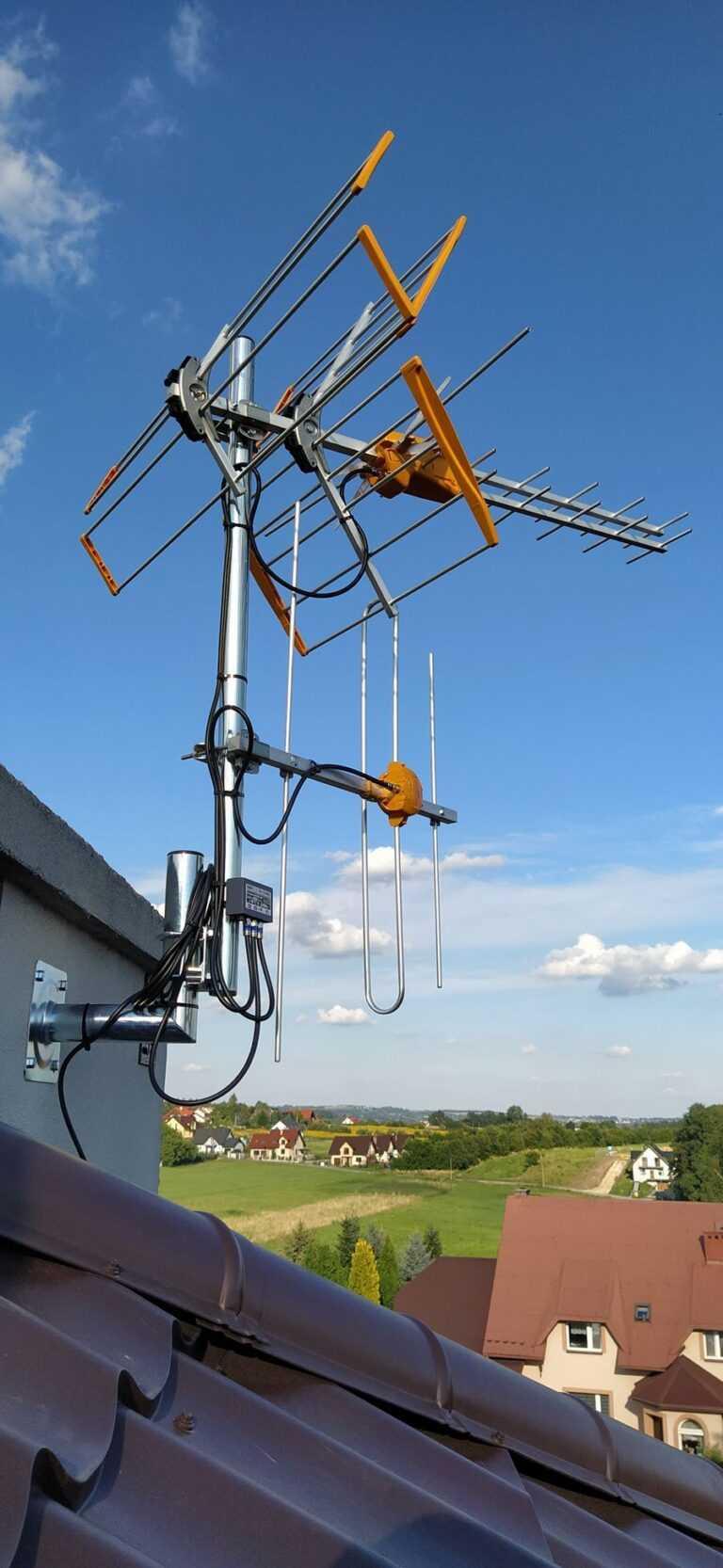 montowanie anten satelitarnych
