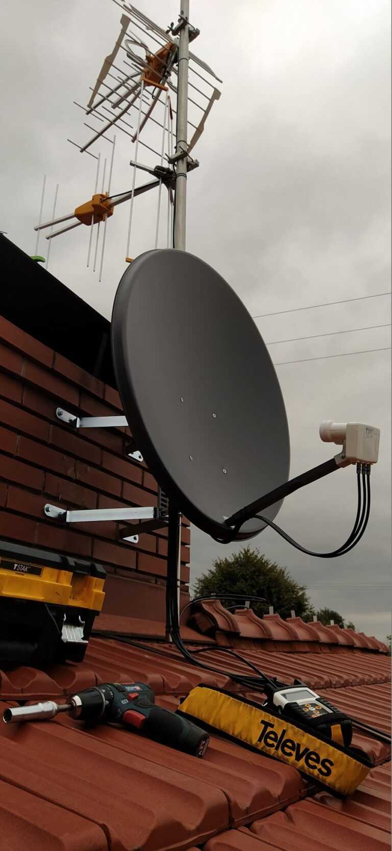 monter anten satelitarnych